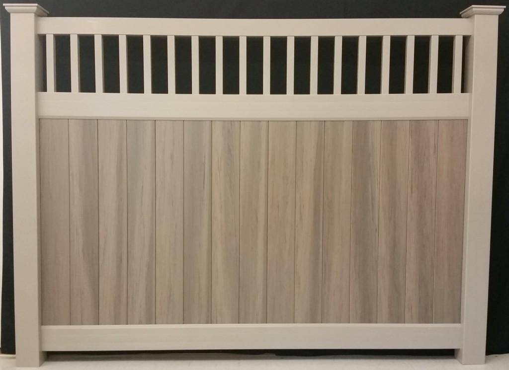 Homewood Wood Grain Fence Al Mar Vinyl Amp Aluminum Exeter