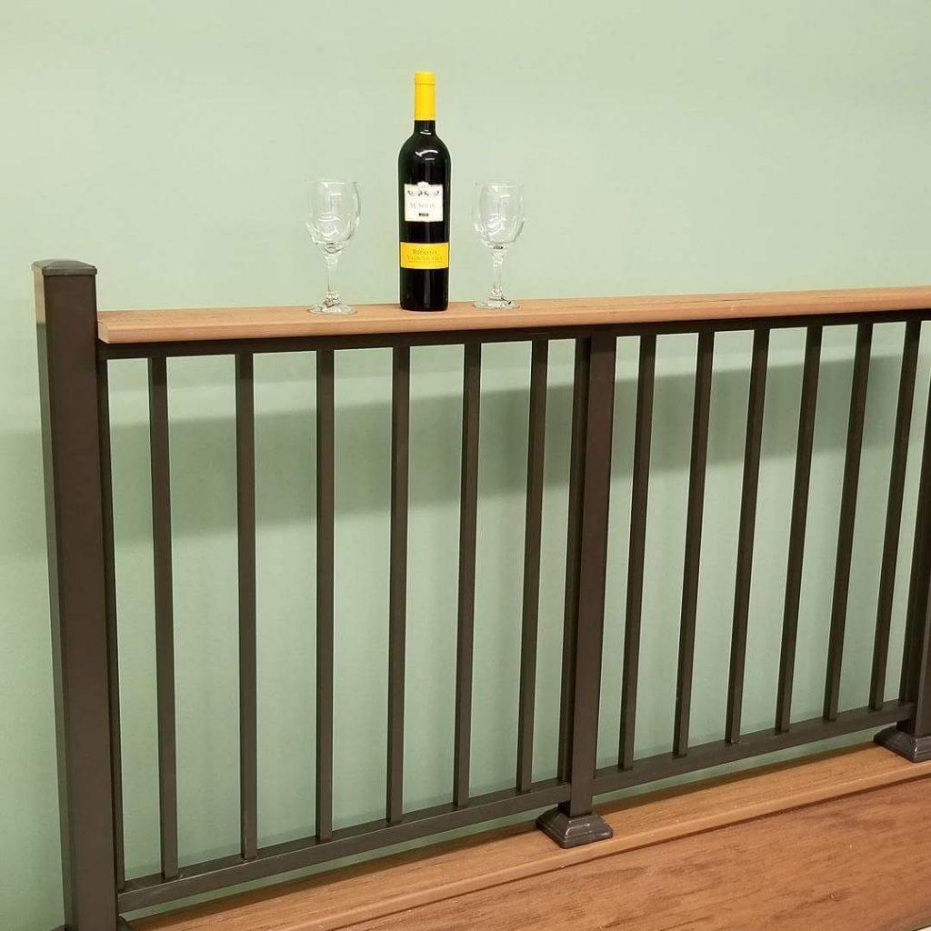 Popular Drink Railing Design | Aluminum Beverage Rail