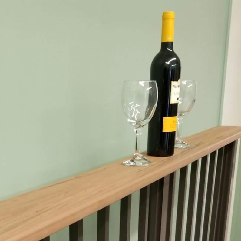Aluminum Beverage Railing | Deck, Drink Railing