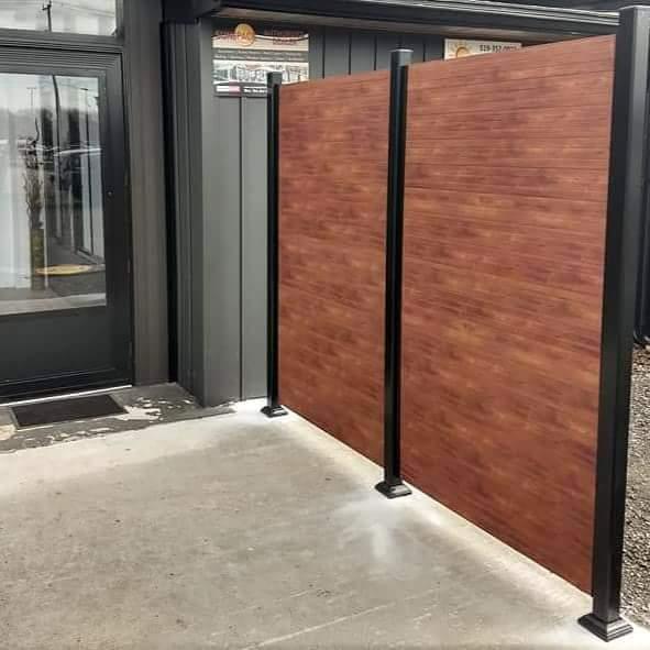 Aluminium Privacy Screen For House Safety | Al-Mar Vinyl Ontario
