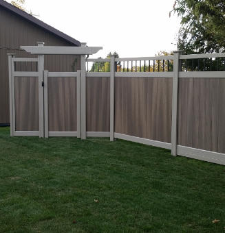 """Picture of Gorilla """"H"""" Post Fence 