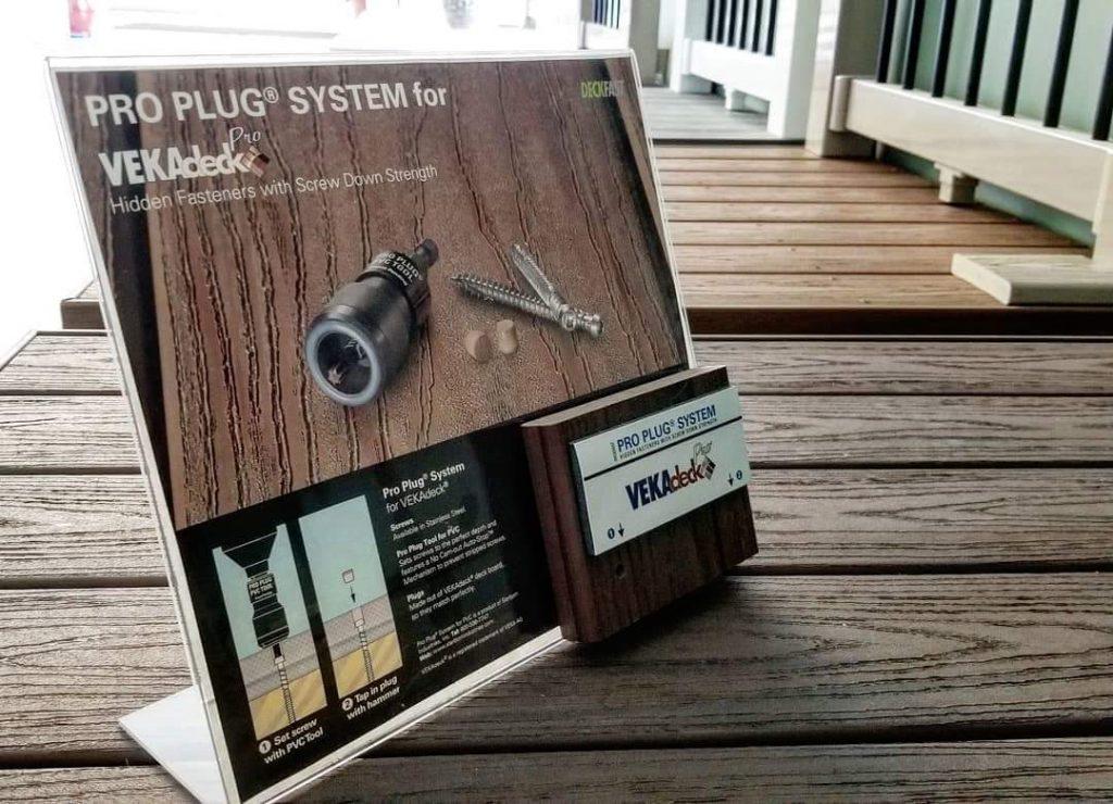 Veka Deck Proplug   Veka Outdoor Living Products   Al-Mar Vinyl