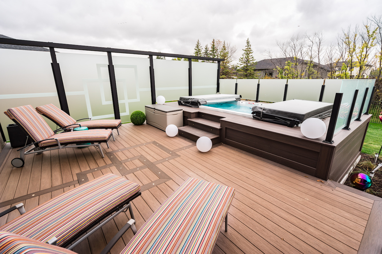 Outstanding Wolf Serenity Decking Picture   Railing For Decks, Privacy Panels