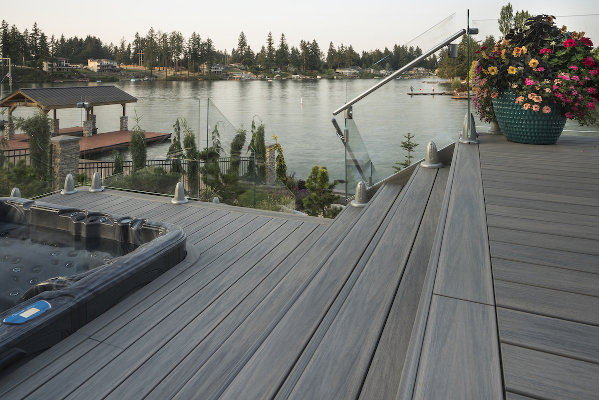 Picture of Wolf Decking Near Lakeside   Wolf Serenity Decking
