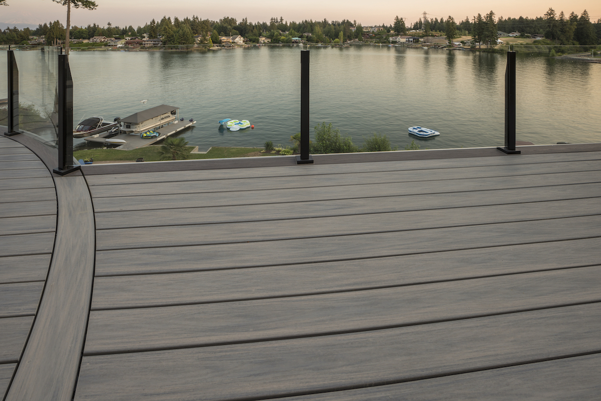 Wolf Serenity Decking at Lackside View