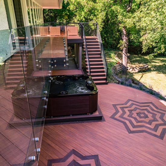 Wolf Serenity Decking in a Beautiful Design