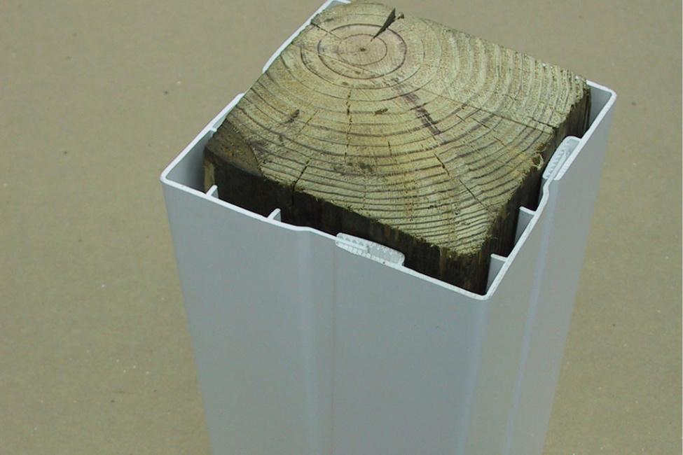 Picture of 4 Piece Post & Beam Wrap | Al-Mar Vinyl & Aluminium Exeter