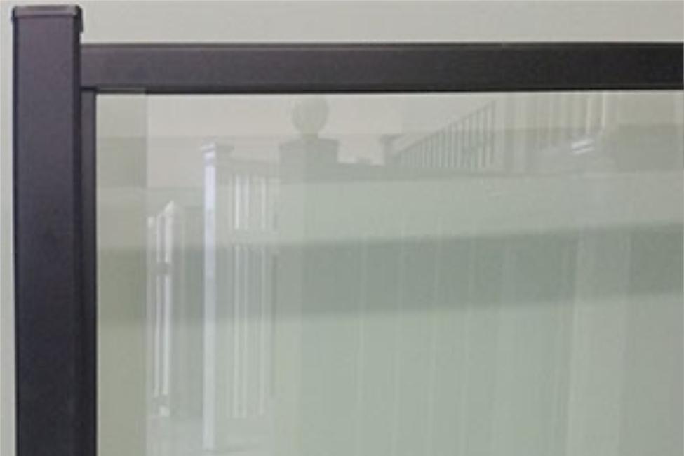 Aluminium With Glass Picture | Glass Railing Ontario
